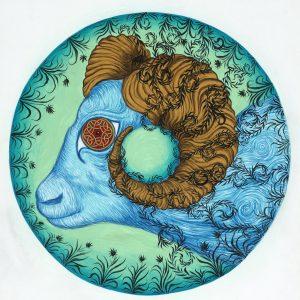Circle Calendar Ram