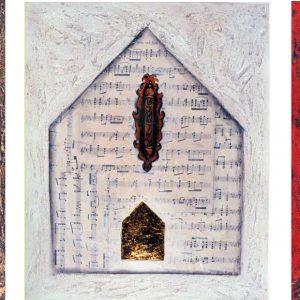 """Finding Home #18,19,20 14"""" x 17"""" Gouache on Paper 1998 SOLD AS A TRIPTYCH :: SOLD"""