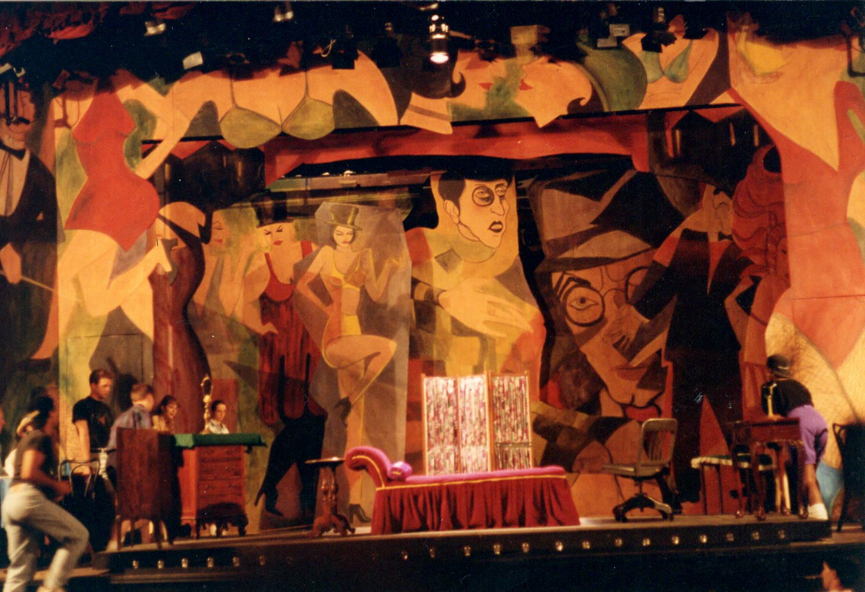 Cabaret at the The Little Theater on the Square, Sullivan, Illinois