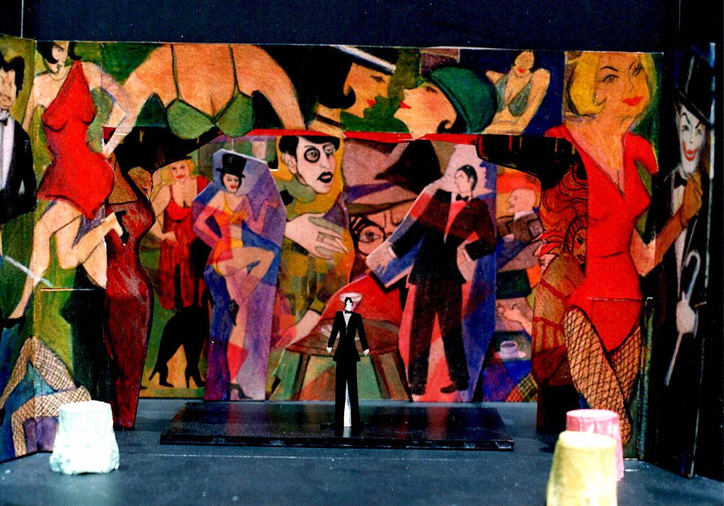 Model - Cabaret at the The Little Theater on the Square, Sullivan, Illinois