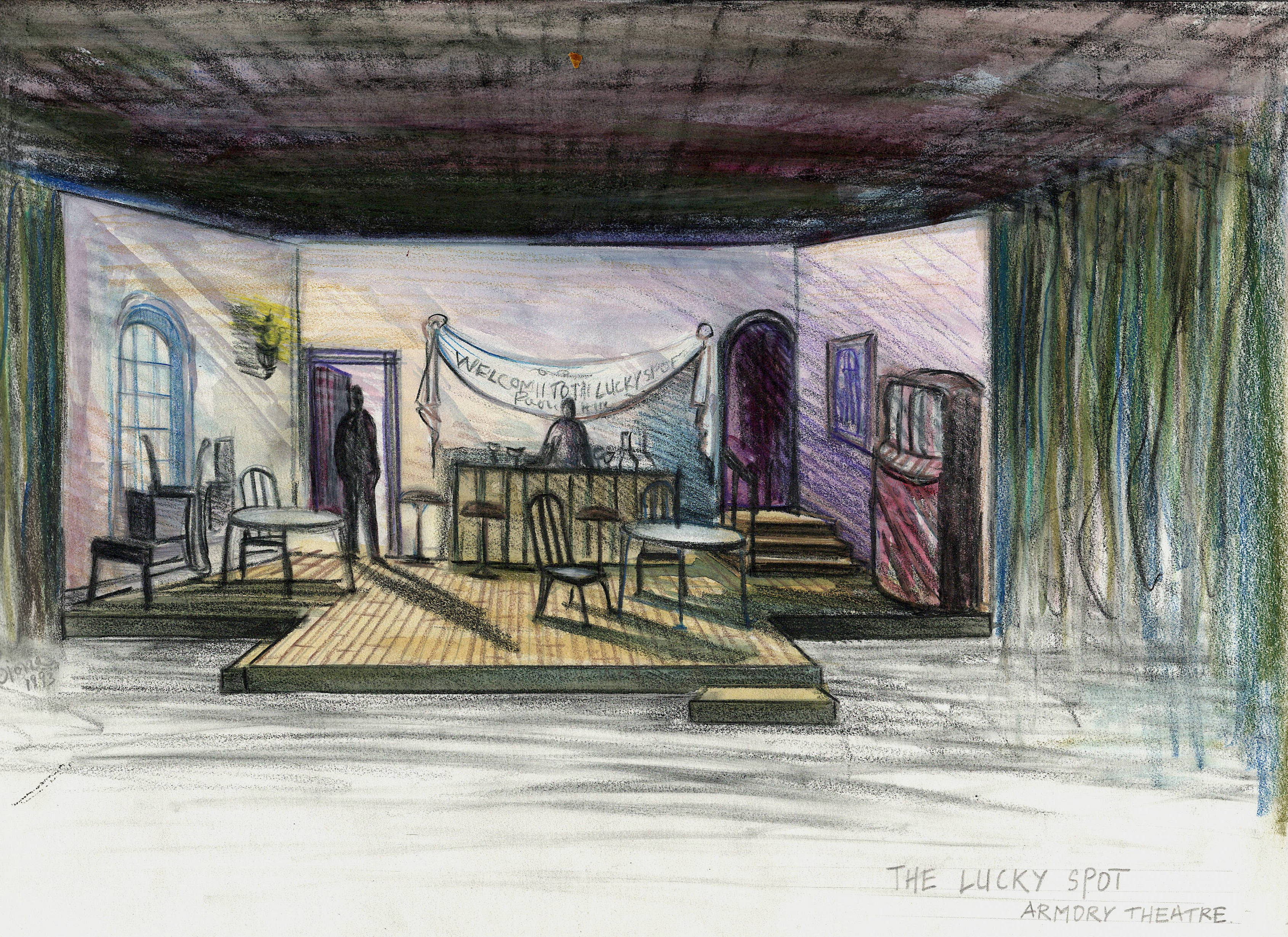 The Lucky Spot by Beth Henley at the Armory theater, Champaign Illinois