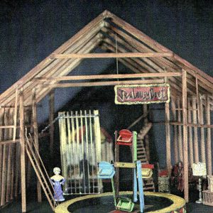 The Three Penny Opera by Bertolt Brecht - Model and Set design renderings