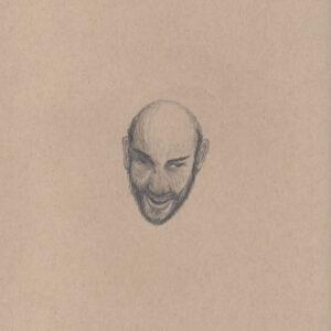 """Exodus portrait #33 Pencil on paper 9"""" x 12"""" 2016-17"""