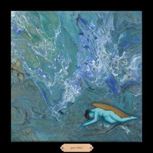 Liberty Series #2 - Your Tired, 12.5 x 12.5, Siona Benjamin 2018