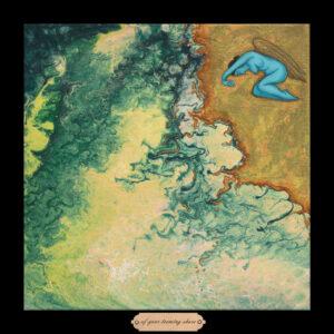 Liberty Series #9 - Of Your Teeming Shore, 12.5 x 12.5, Siona Benjamin 2018